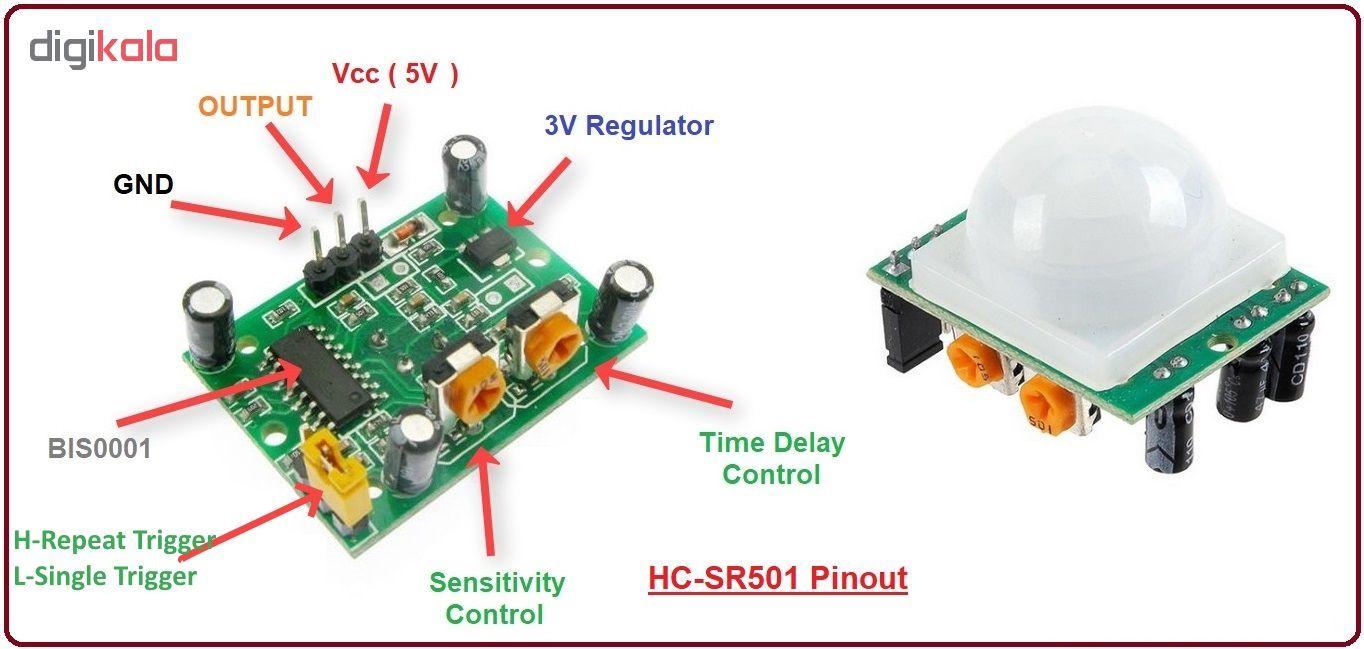 ماژول PIR مدل HC-SR501 main 1 1