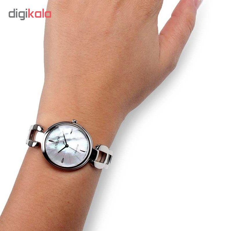 ساعت مچی عقربه ای زنانه سیتی زن مدل EM0420-89D