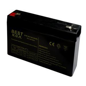 باتری یو پی اس 6 ولت 7 آمپر ساعت بست ان جی اچ مدل 67HR