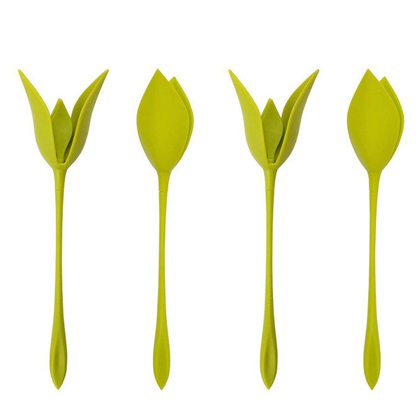 نگهدارنده دستمال سفره بلوم طرح گل رز مجموعه 4 عددی
