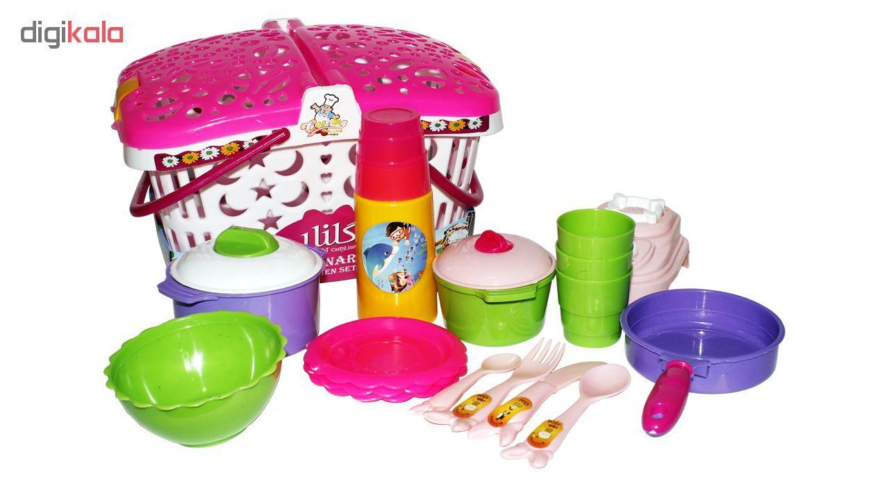 ست آشپزخانه اسباب بازی مدل Basket main 1 1