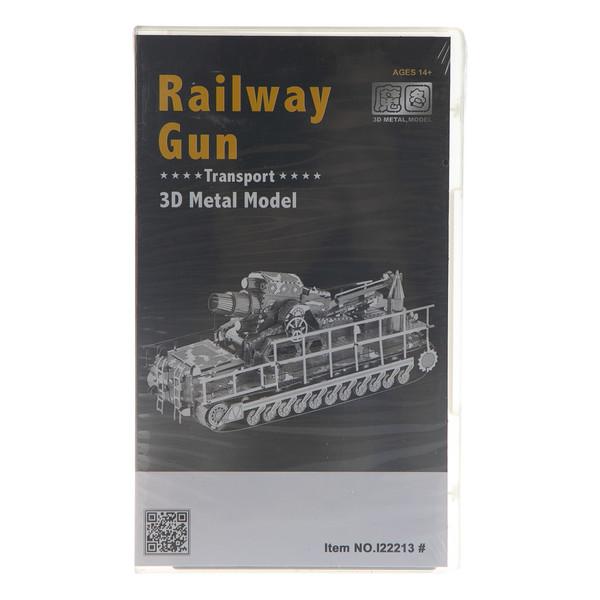 ساختنی مدل Railway gun