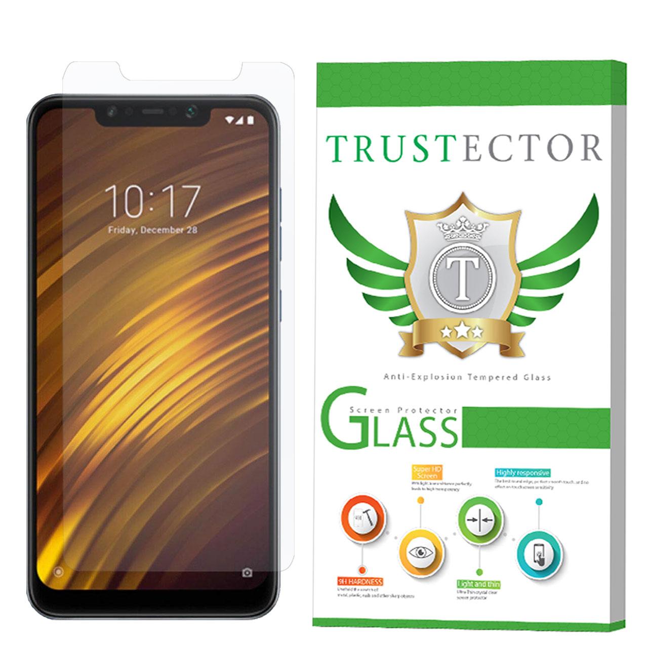 محافظ صفحه نمایش تراستکتور مدل GLS مناسب برای گوشی موبایل شیائومی PocoPhone F1              ( قیمت و خرید)