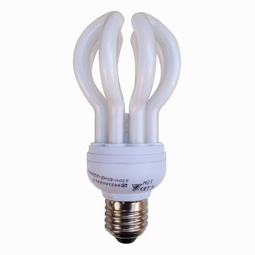 لامپ کم مصرف 18 وات دلتا مدل لوتوس پایه E27