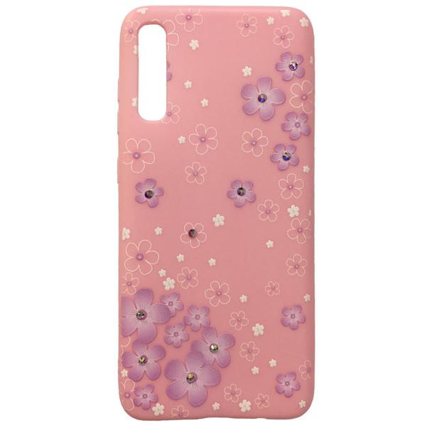 کاور نگین دار کد 0143 مناسب برای گوشی موبایل سامسونگ Galaxy A70