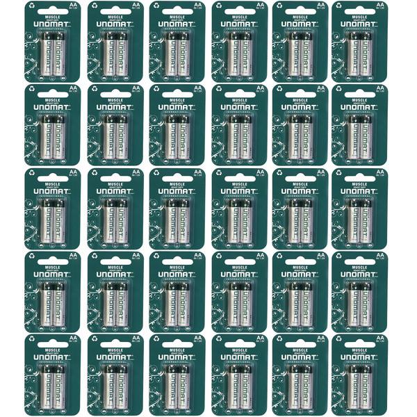 باتری قلمی یونومات مدل Muscle Heavy Duty بسته 60 عددی