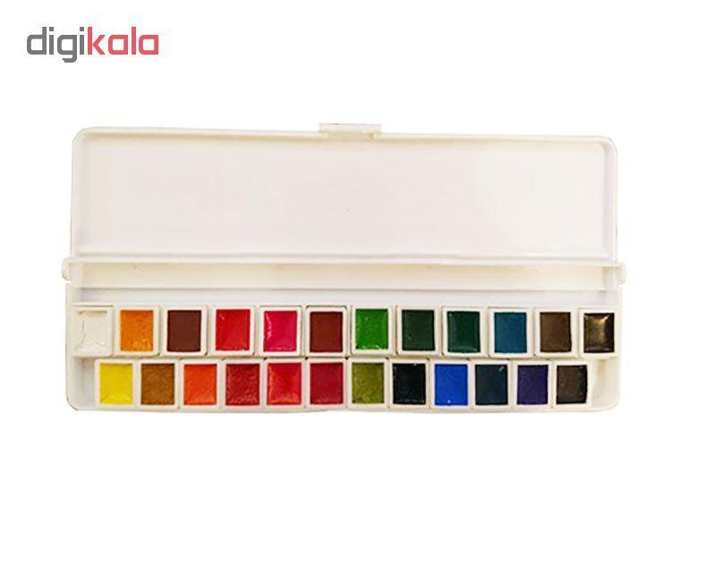 آبرنگ 24 رنگ آقامیری مدل 001 main 1 1