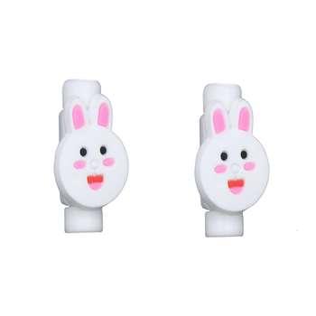 محافظ کابل طرح Rabbit 1 بسته 2 عددی