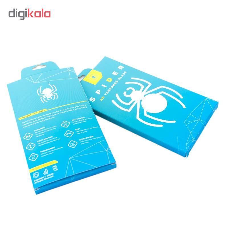 محافظ صفحه نمایش 6D اسپایدر مدل Pro مناسب برای گوشی موبایل سامسونگ Galaxy A40 main 1 3