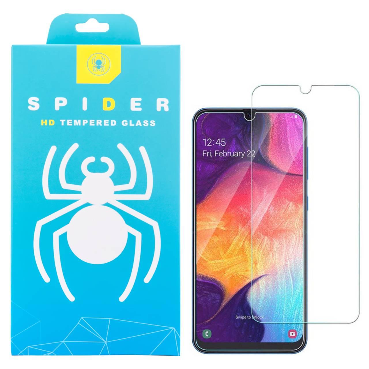 محافظ صفحه نمایش اسپایدر مدل light مناسب برای گوشی موبایل سامسونگ Galaxy A40