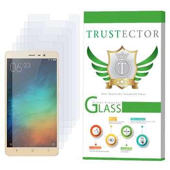محافظ صفحه نمایش تراستکتور مدل GLS مناسب برای گوشی موبایل شیائومی Redmi Note 3 بسته 5 عددی