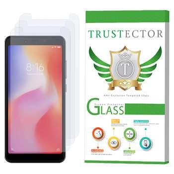 محافظ صفحه نمایش تراستکتور مدل GLS مناسب برای گوشی موبایل شیائومی Redmi 6A بسته 3 عددی