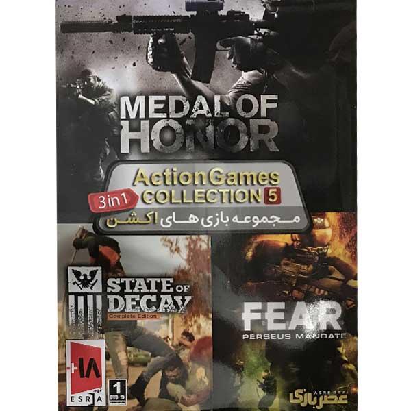 مجموعه بازی های Action Games Collection 5 مخصوص pc