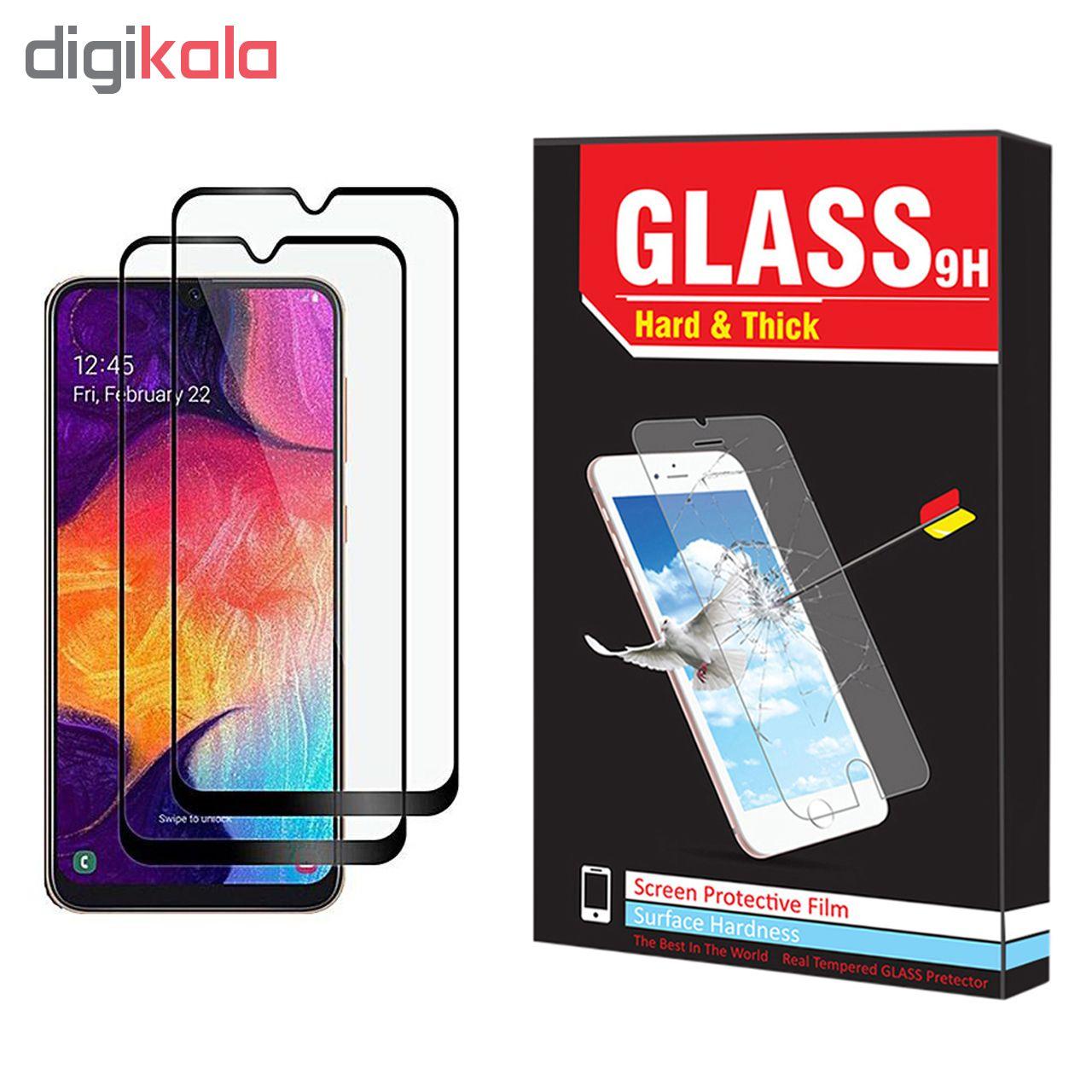 محافظ صفحه نمایش hard and thick مدل F-001 مناسب برای گوشی موبایل سامسونگ Galaxy A20 بسته دو عددی main 1 1