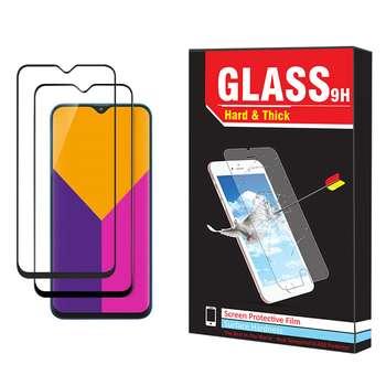 محافظ صفحه نمایش hard and thick مدل F-001 مناسب برای گوشی موبایل سامسونگ Galaxy M10 بسته دو عددی