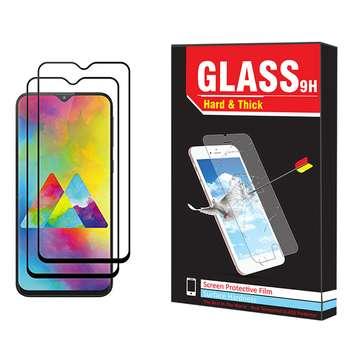 محافظ صفحه نمایش hard and thick مدل F-001 مناسب برای گوشی موبایل سامسونگ Galaxy M20 بسته دو عددی