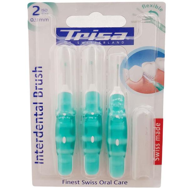 مسواک بین دندانی تریزا مدل Finest سایز 2 بسته 3 عددی