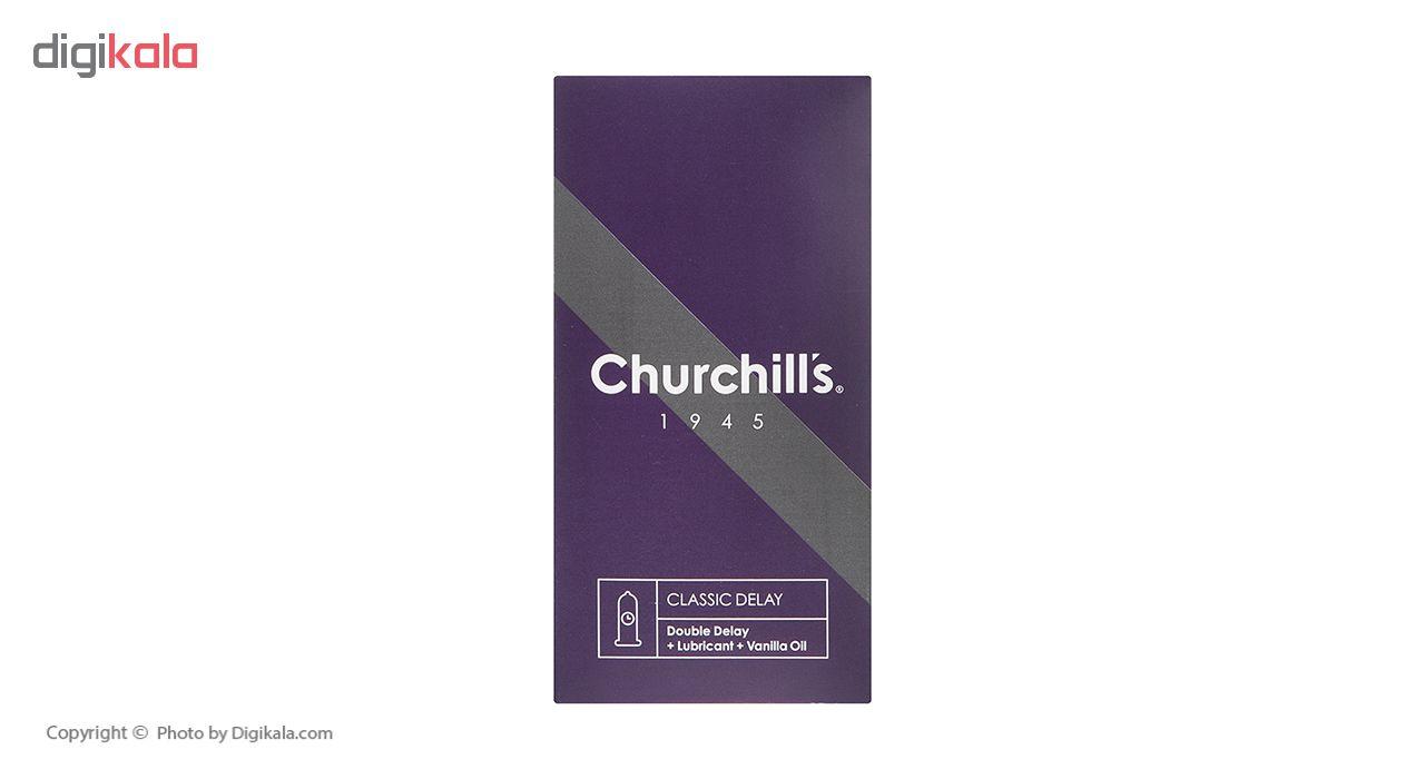 کاندوم چرچیلز مدل Classic Delay بسته 12 عددی main 1 1