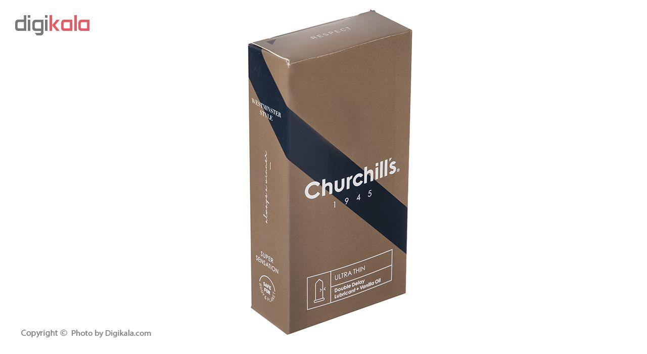 کاندوم چرچیلز مدل Ultra Thin بسته 12 عددی main 1 2