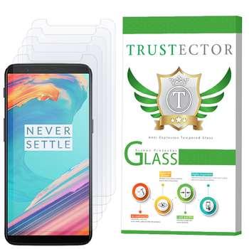محافظ صفحه نمایش تراستکتور مدل GLS مناسب برای گوشی موبایل وان پلاس 5T بسته 5 عددی