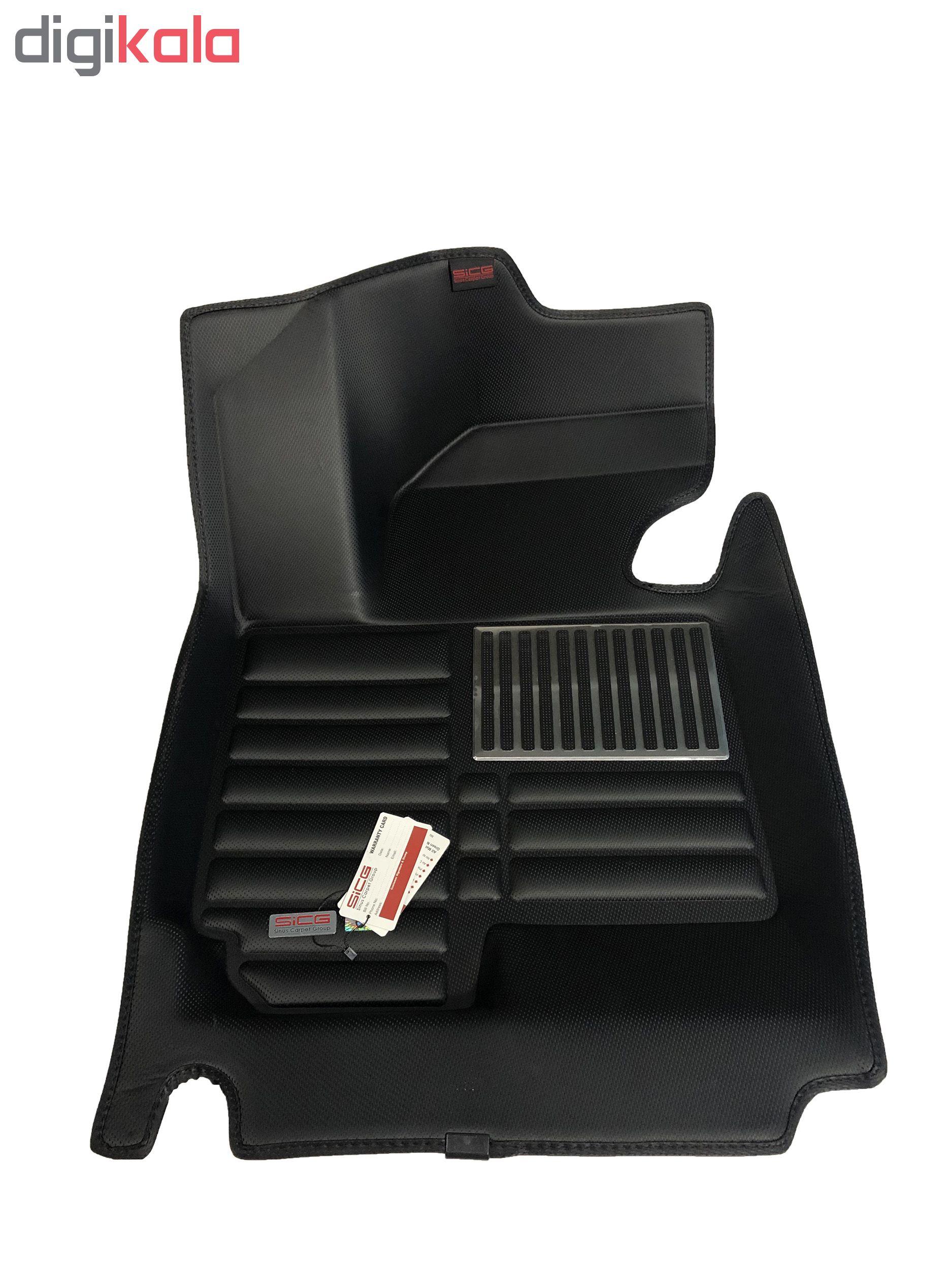 کفپوش سه بعدی خودرو اسایسیجی مدل CBN مناسب برای هیوندای IX35