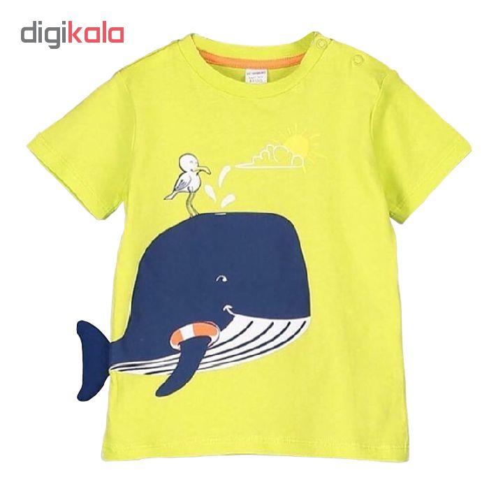 تی شرت پسرانه ال سی وایکیکی مدل E06