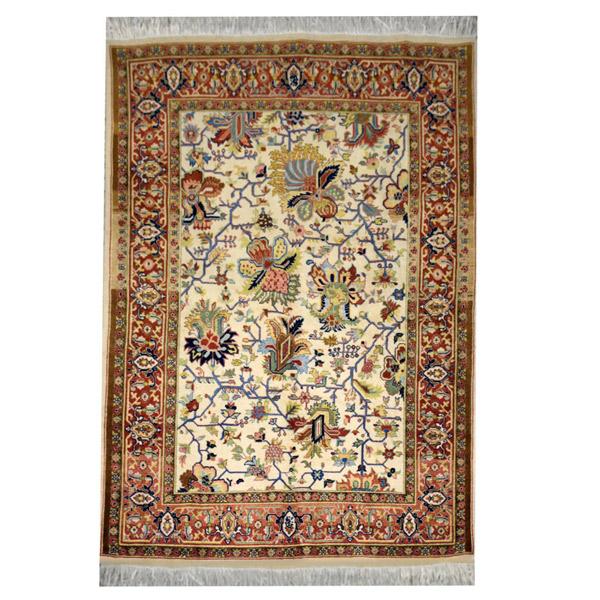 فرش دستبافت یک و نیم متری کد 01