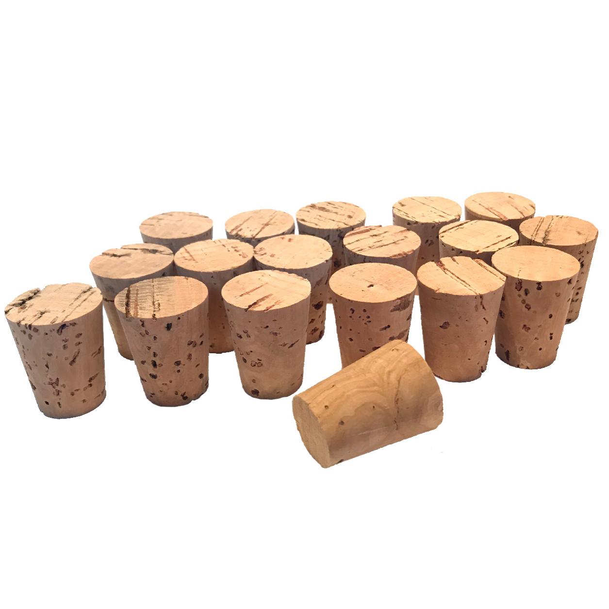 درب بطری چوب پنبه ایران کرک مدل ۲۴X۱۸ بسته 100 عددی