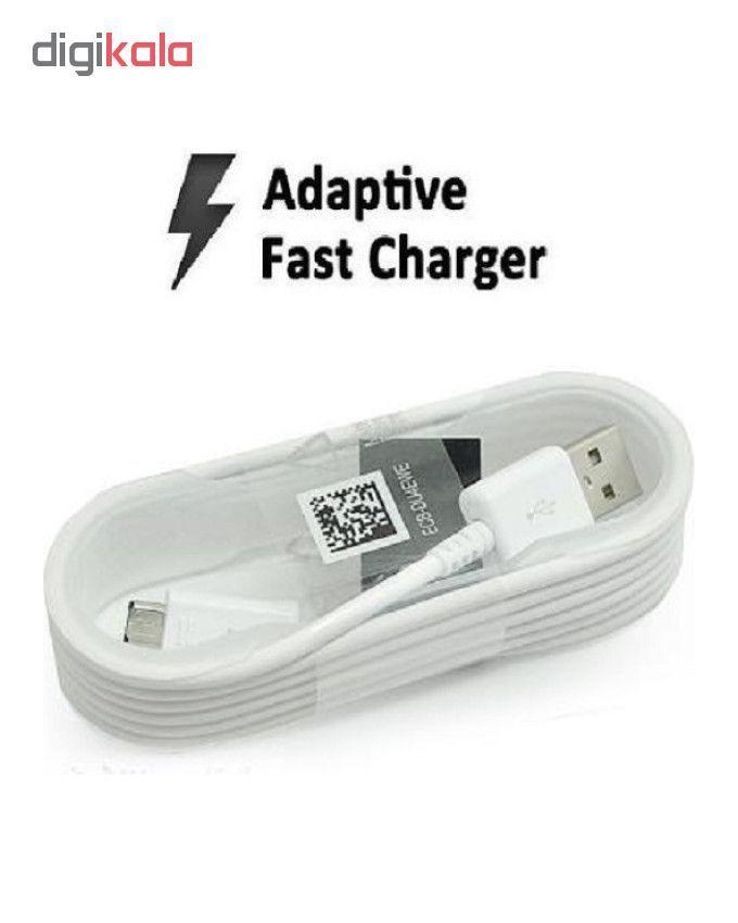 کابل تبدیل USB به microUSB مدل ECB _ DU4EWE طول 1.5 متر به همراه مبدل OTG main 1 2
