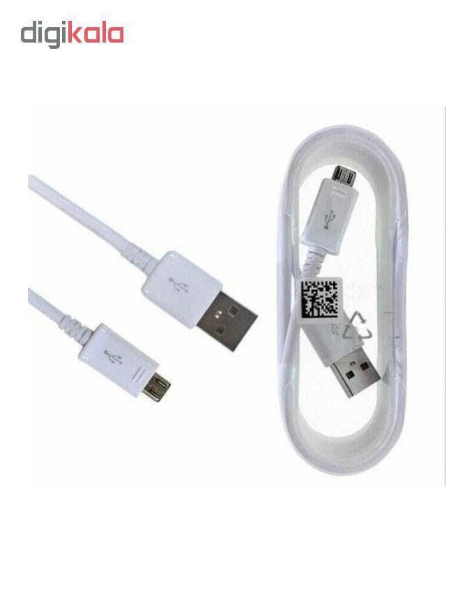 کابل تبدیل USB به microUSB مدل ECB _ DU4EWE طول 1.5 متر به همراه مبدل OTG main 1 3