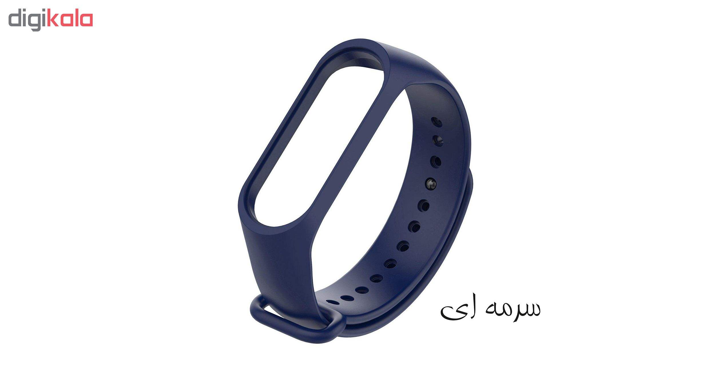 بند مچ بند هوشمند سومگ مدل SMG-S1 مناسب برای مچ بند هوشمند شیائومی Mi Band 3 و M3 main 1 4