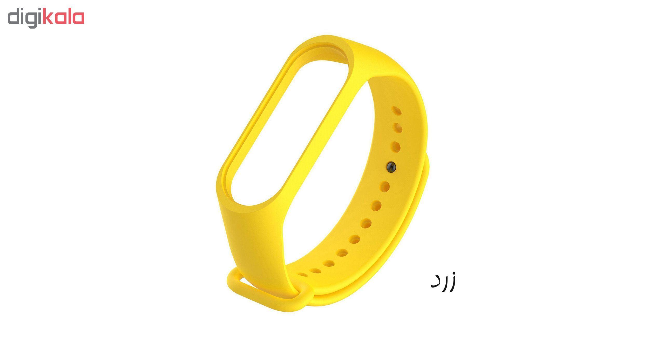 بند مچ بند هوشمند سومگ مدل SMG-S1 مناسب برای مچ بند هوشمند شیائومی Mi Band 3 و M3 main 1 9