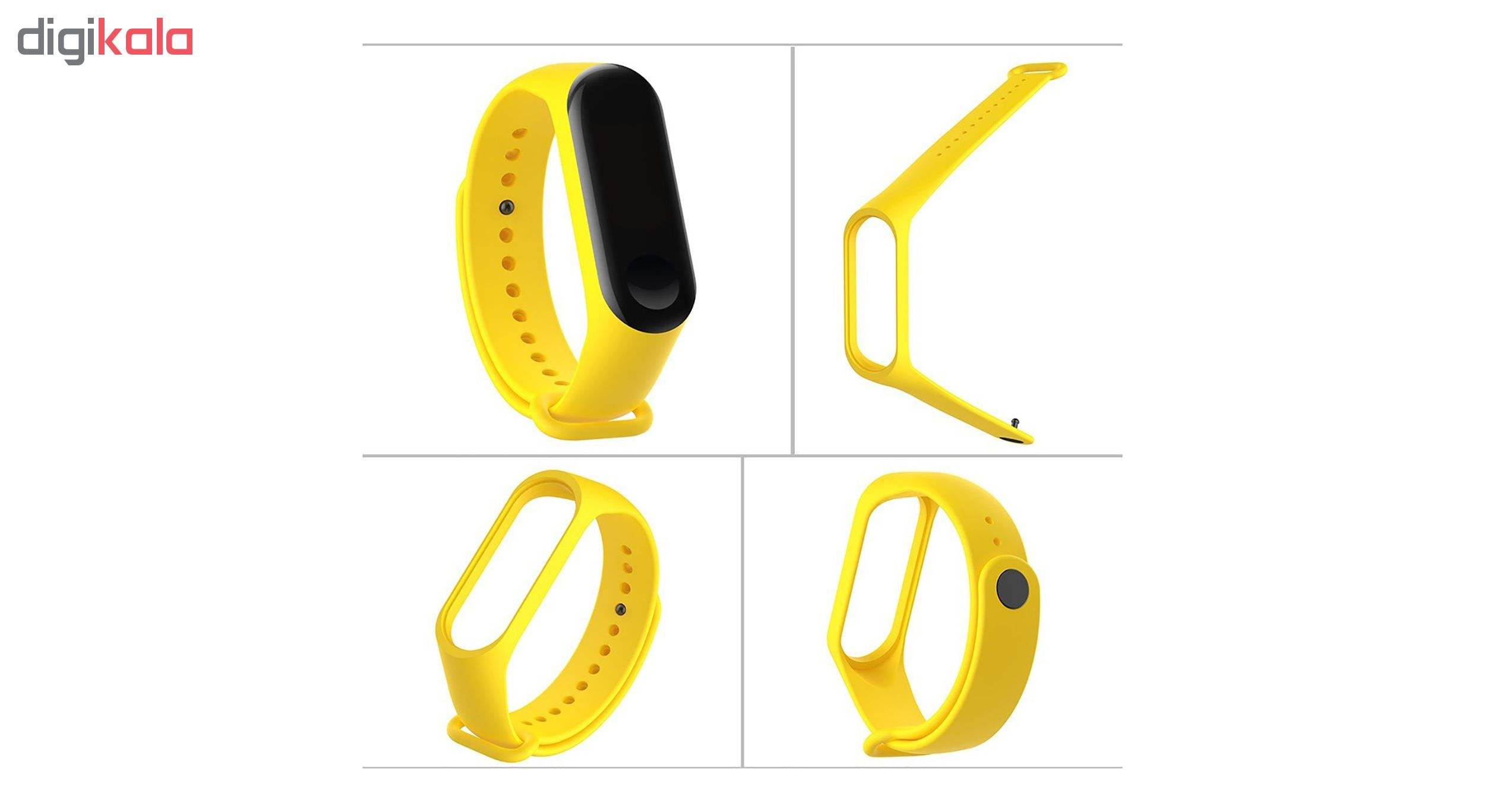 بند مچ بند هوشمند سومگ مدل SMG-S1 مناسب برای مچ بند هوشمند شیائومی Mi Band 3 و M3 main 1 13