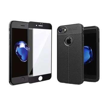 کاور مدل MJ7 مناسب برای گوشی موبایل اپل Iphone 7 به همراه محافظ صفحه نمایش
