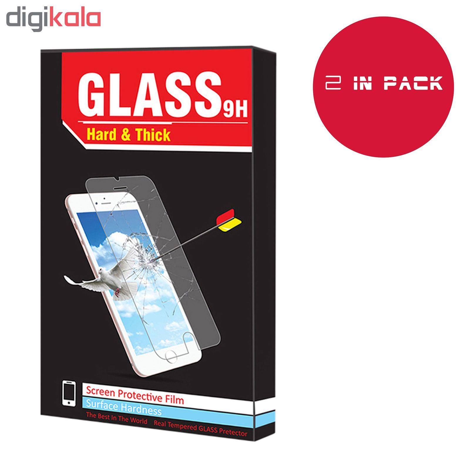 محافظ صفحه نمایش hard and thick مدل F-001 مناسب برای گوشی موبایل سامسونگ Galaxy A20 بسته دو عددی main 1 2