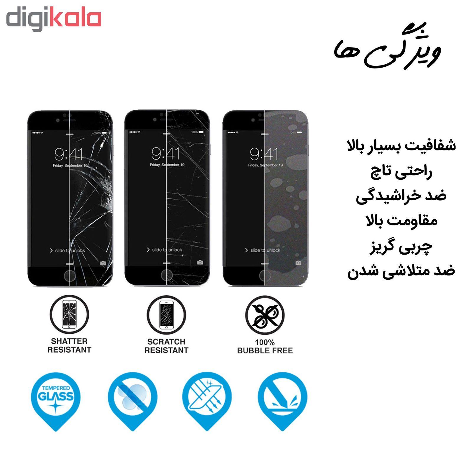 محافظ صفحه نمایش hard and thick مدل F-001 مناسب برای گوشی موبایل سامسونگ Galaxy M30 بسته دو عددی main 1 3