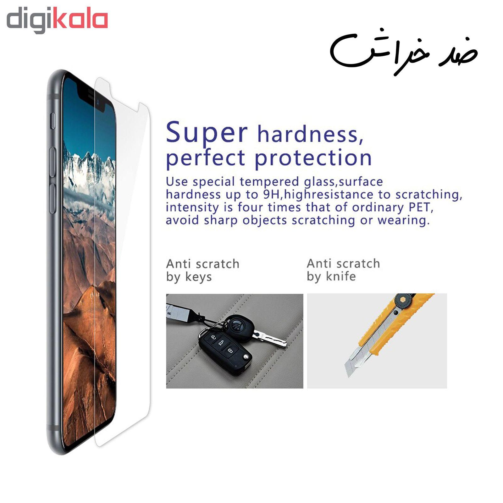 محافظ صفحه نمایش hard and thick مدل F-001 مناسب برای گوشی موبایل سامسونگ Galaxy M30 بسته دو عددی main 1 5