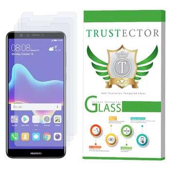 محافظ صفحه نمایش تراستکتور مدل GLS مناسب برای گوشی موبایل هوآوی Y9 2018 بسته 3 عددی