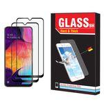 محافظ صفحه نمایش hard and thick مدل F-001 مناسب برای گوشی موبایل سامسونگ Galaxy A70 بسته دو عددی thumb