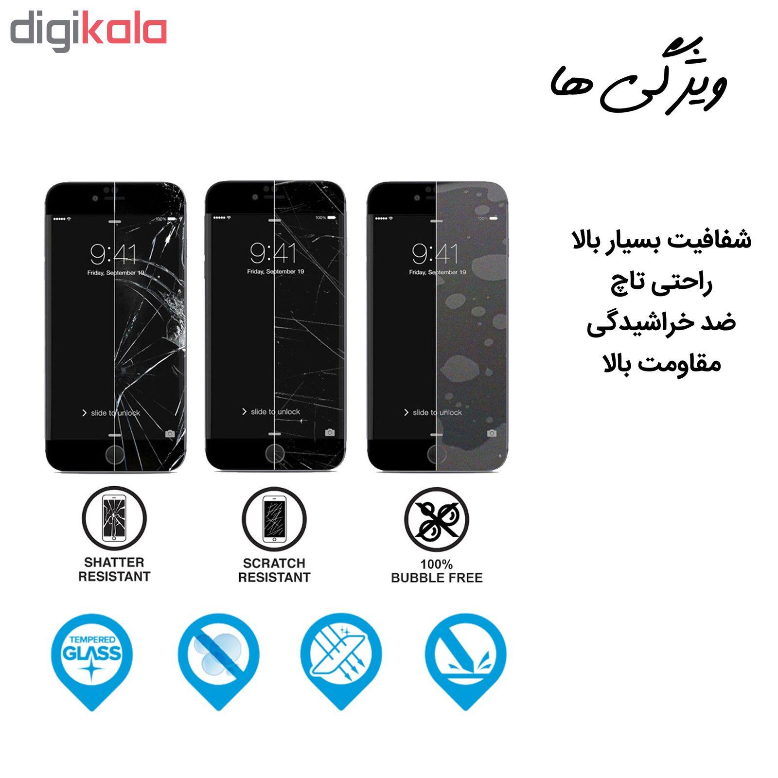 محافظ صفحه نمایش hard and thick مدل F-001 مناسب برای گوشی موبایل سامسونگ Galaxy A70 بسته دو عددی main 1 3