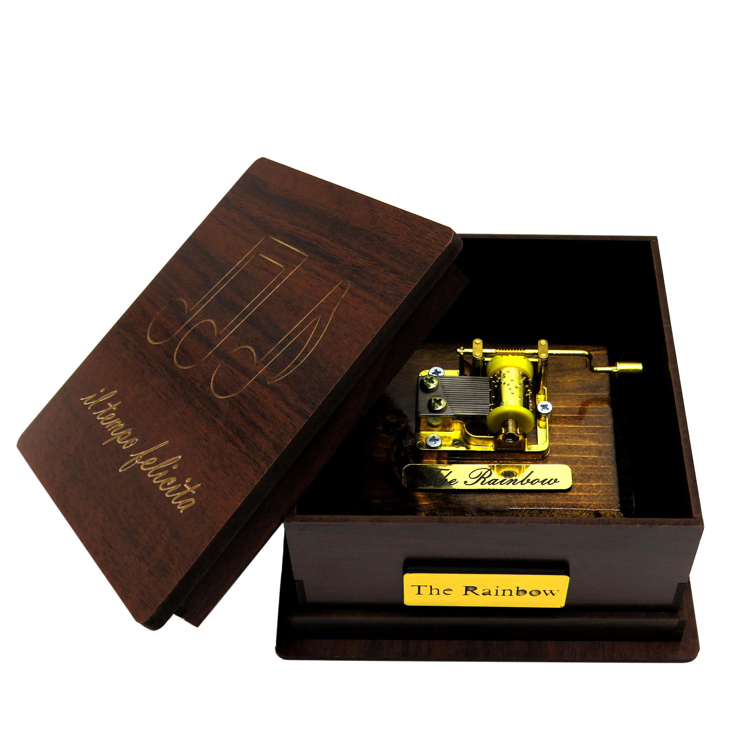 جعبه موزیکال  ایل تمپو فلیچیتا مدل 001-The Rainbow