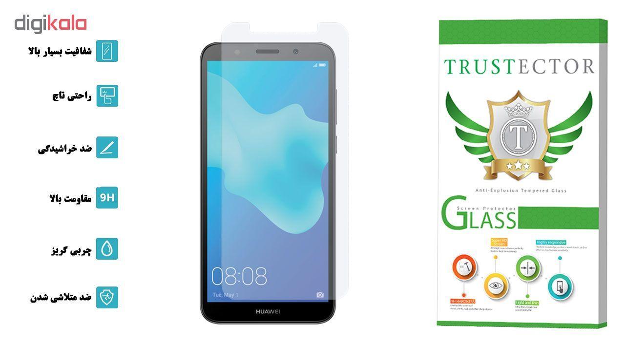 محافظ صفحه نمایش تراستکتور مدل GLS مناسب برای گوشی موبایل هوآوی Y5 2018 / Y5 Prime 2018 main 1 2