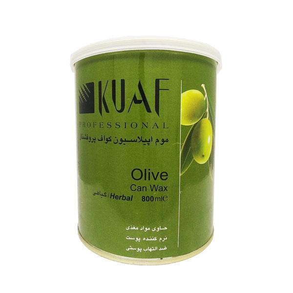 خرید                      موم موبر کواف مدل olive وزن 800 گرم              ✅
