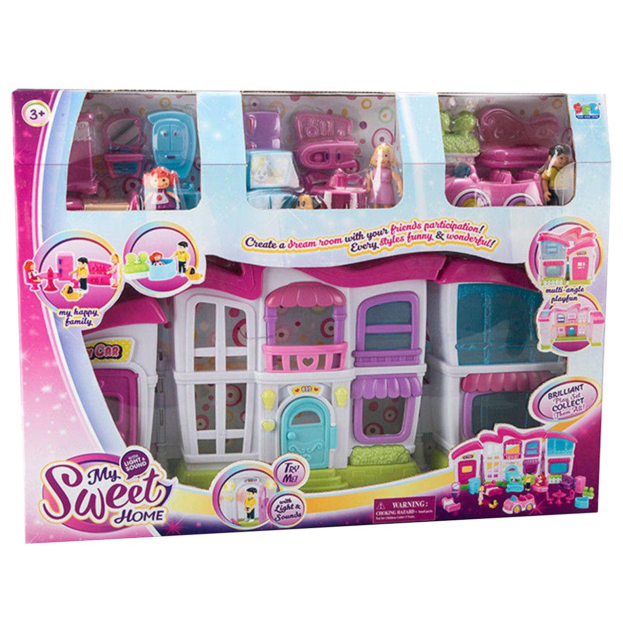 اسباب  بازی خانه عروسکی مدل My Sweet Home 16689