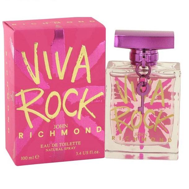 ادوتویلت زنانه جان ریچموند مدل Viva Rock حجم 100 میلی لیتر