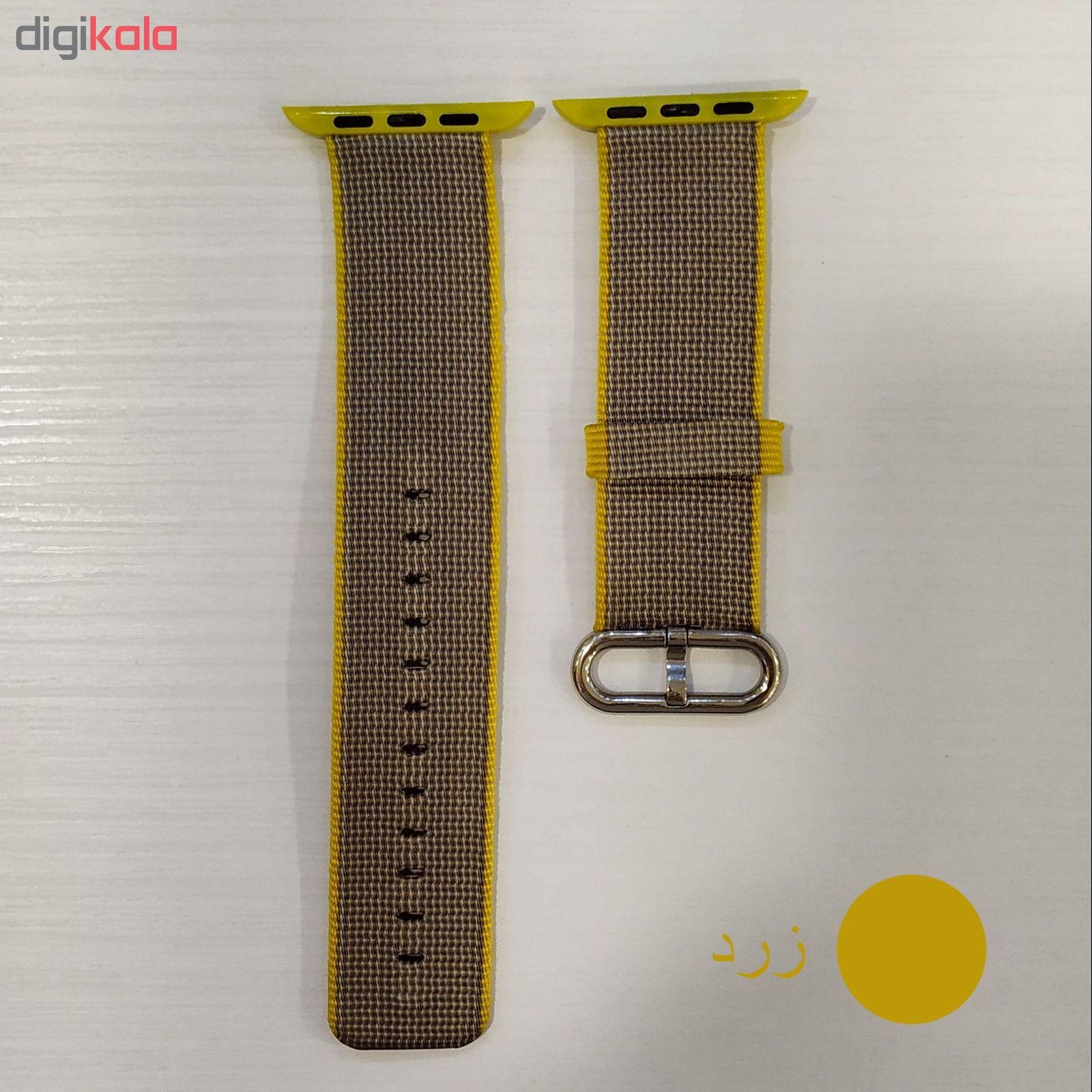 بند مدل Nylon مناسب برای اپل واچ 42 میلی متری main 1 9