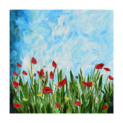 Photo of تابلوی نقاشی رنگ روغن طرح بهار