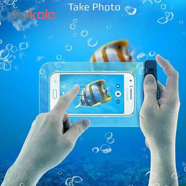 کیف ضد آب ام تی چهار مدل Diving مناسب برای گوشی موبایل تا سایز 6 اینچ  main 1 8