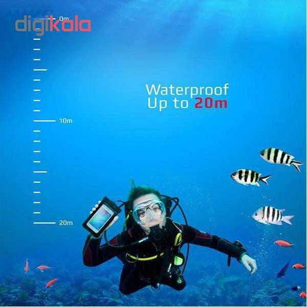 کیف ضد آب ام تی چهار مدل Diving مناسب برای گوشی موبایل تا سایز 6 اینچ  main 1 7