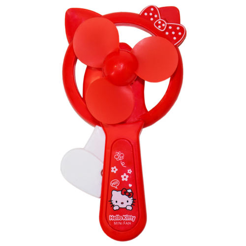 پنکه دستی طرح Hello Kitty کد 03
